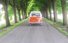 Touren met een Retrobus