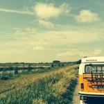 Foto's maken van het Volkswagen busje