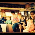 Volkswagenbusje huren met kinderen -