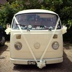 Uniek Trouwvervoer VW busje